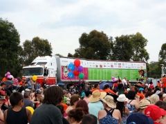 The People's Truck on display