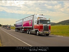 The People's Truck in motion